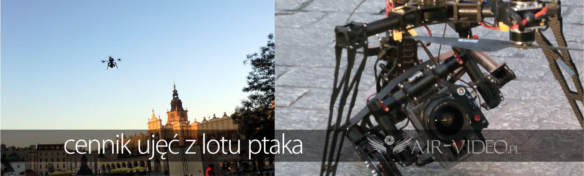 Cennik filmowania i fotografii z drona
