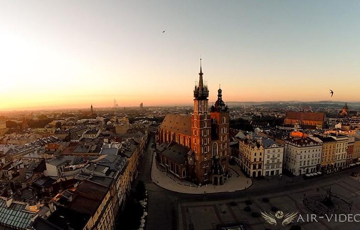 Prcedury na lot dronem w miastach