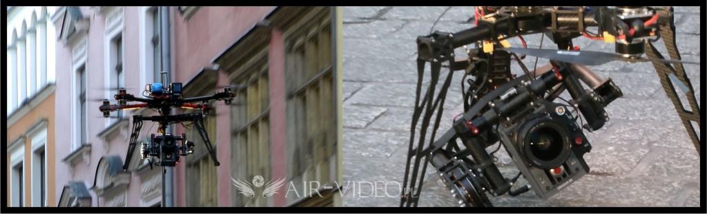 Dron z kamerą Red Dragon 6K