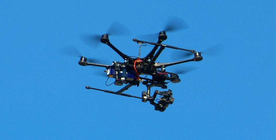 Dron typu Hexacopter