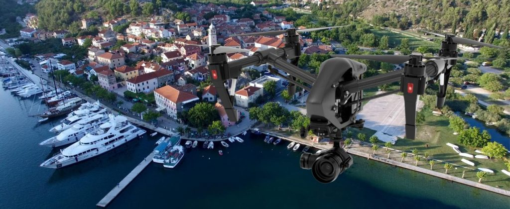 Drony do filmowania z powietrza