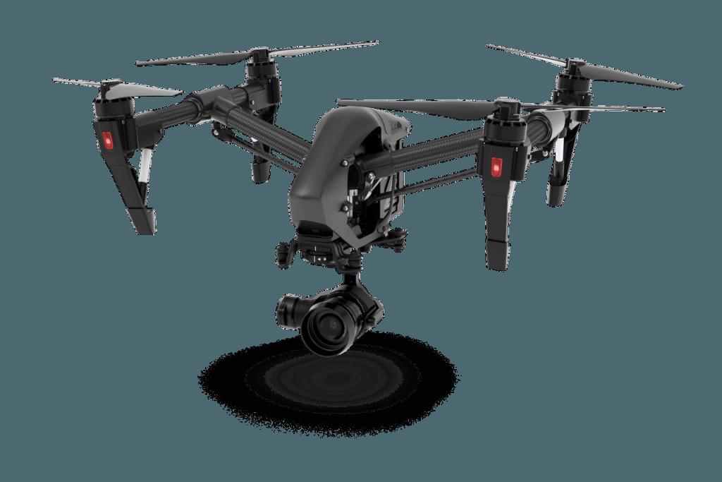 Inspire DJI - Dron do ujęc filmowych i fotograficznych z lotu ptaka