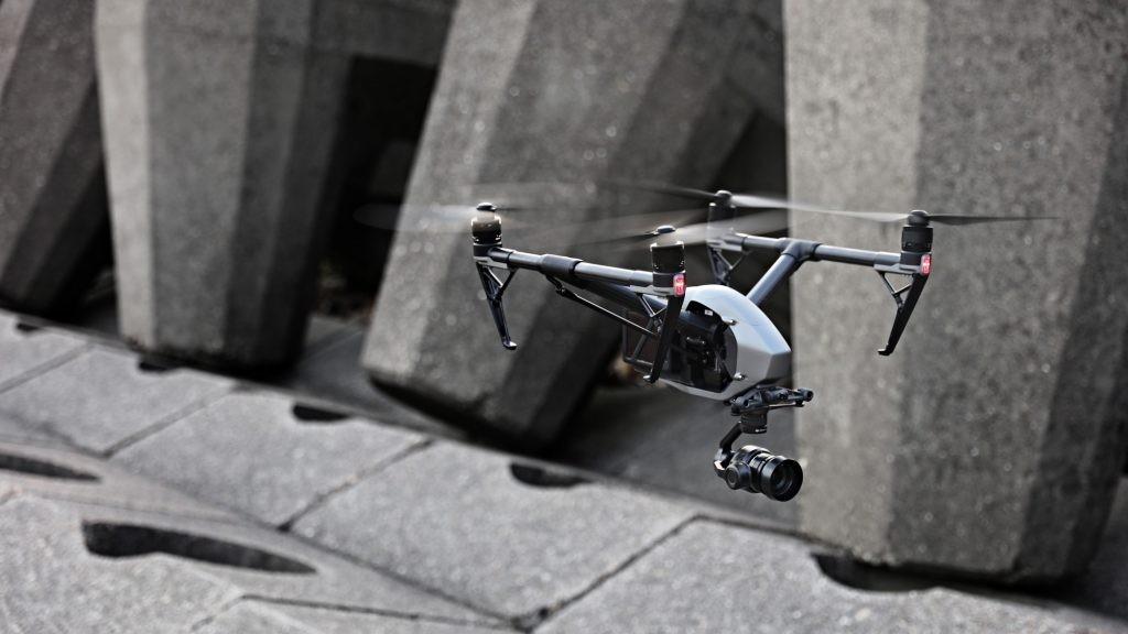 Dji Inspire 2 - Dron do ujęc filmowych i fotograficznych